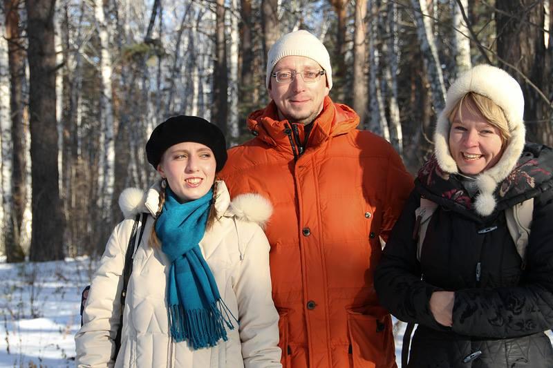 В.Московец с Е.Чириковой в Челябинске