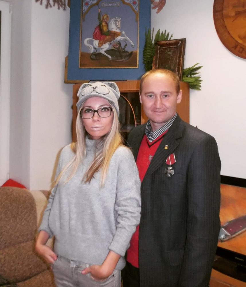 С.Юрченко и подруга Навального Мария Берсенва. Фото: vk.com/stop_gok