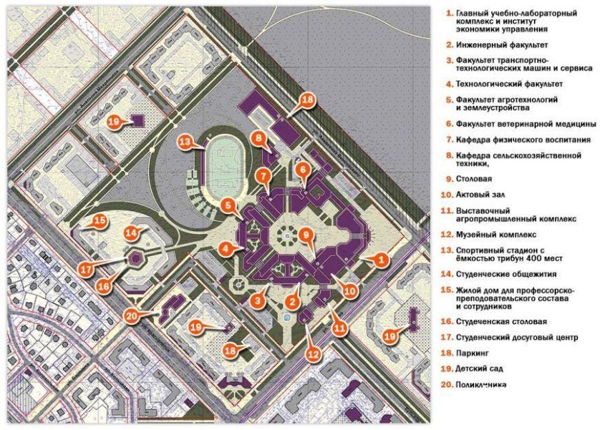Утвержденный план застройки 7-го квартала. Источник: ekburg.ru