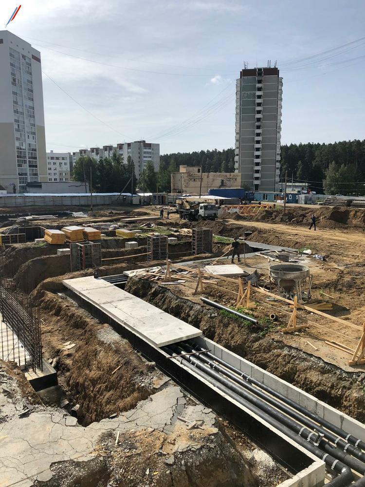 Строительство нового корпуса школы №181