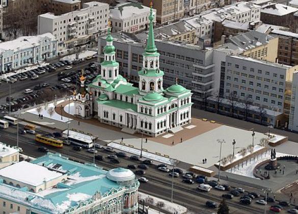 Проект храма святой Екатерины, фото: ekaterinburg-eparhia.ru