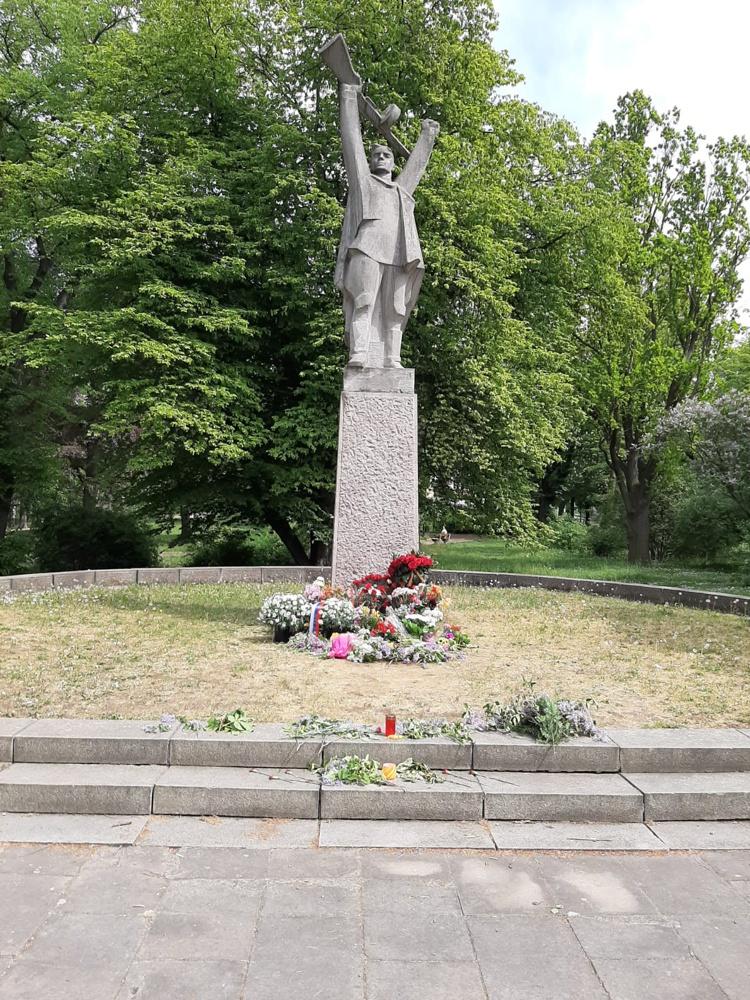 Теплице, Чехия, мемориал советским воинам