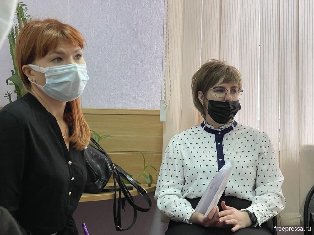 Представители МПР Оренбургской области в предварительном заседании